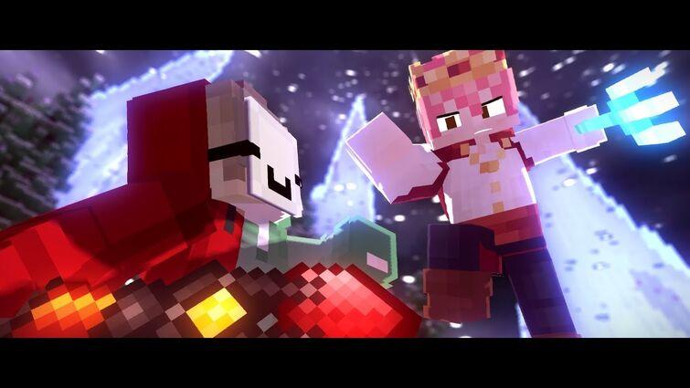 "♪ ""Fade Away"" ♪ - Dream vs Technoblade Animation"