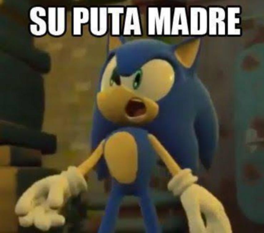Meme de Sonic
