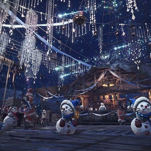 MONSTER HUNTER: WORLD :: The Winter Star Fest is coming on Friday, November 30!