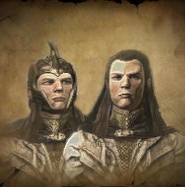 Elladan and Elrohir/Imladris