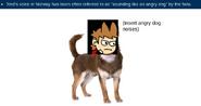 (insert angry dog noises)