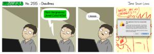 ComicNo255Deadlines
