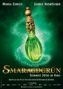 Smaragdgrün-Plakat