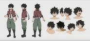 Shiki anime design
