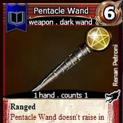 Pentacle Wand