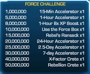 Force Challenge 58