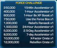 Force Challenge 60