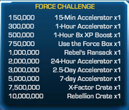 Force Challenge 57