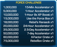 Force Challenge 61