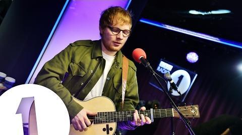 Ed Sheeran - Bloodstream in the Live Lounge