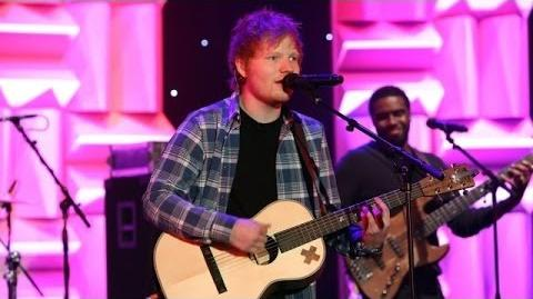 Ed Sheeran Performs 'Sing'