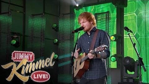 "Ed Sheeran Performs ""Sing"""
