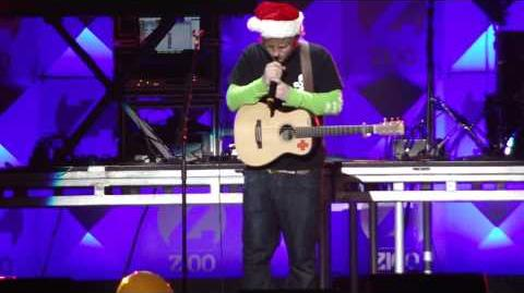 Ed Sheeran - The A-Team - Z100 Jingle Ball 2012 HD