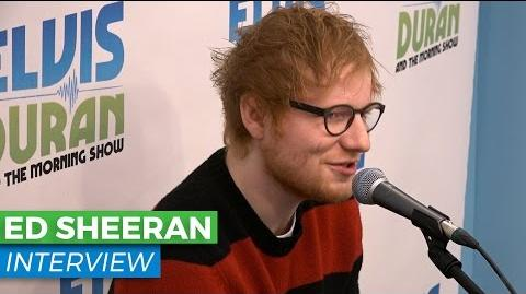 Ed Sheeran Chats About Giving Up His Smart Phone Upcoming Album, 'Divide' Elvis Duran Show