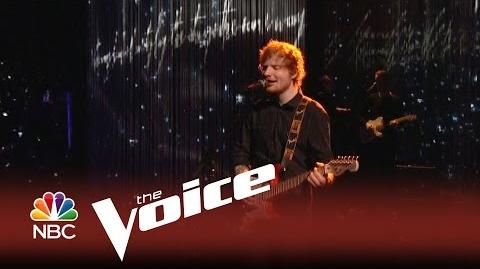 """The Voice 2014 - Ed Sheeran """"Thinking Out Loud"""""""
