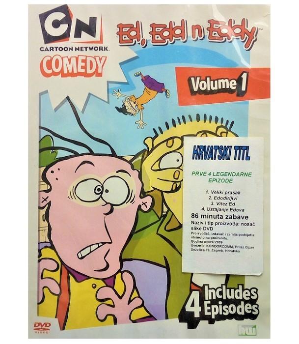 Cartoon Network Comedy: Ed, Edd n Eddy - Volume 1