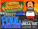 Cartoon Cartoon Summer Resort