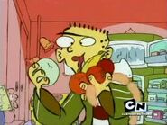 Ed, Edd N Eddy S03E15 İs There An Ed İn The House - An Ed İs Born