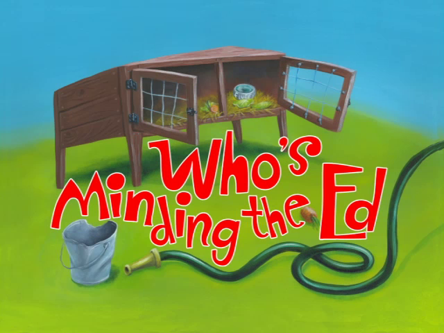 Who's Minding the Ed?