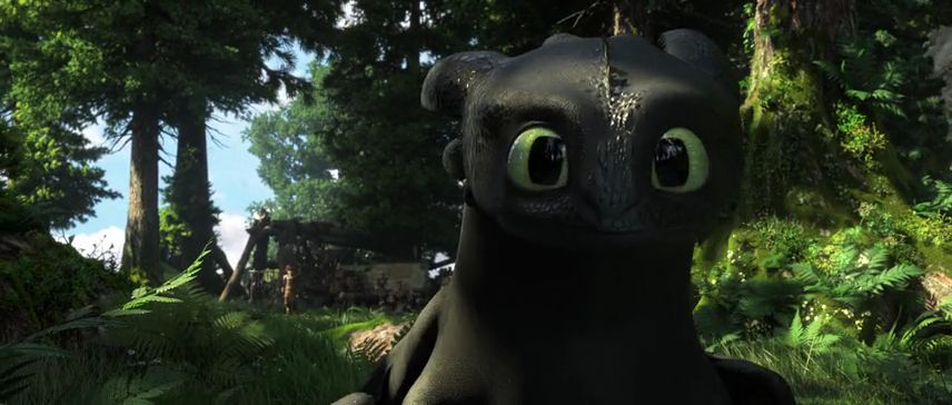 Toothless was so cute