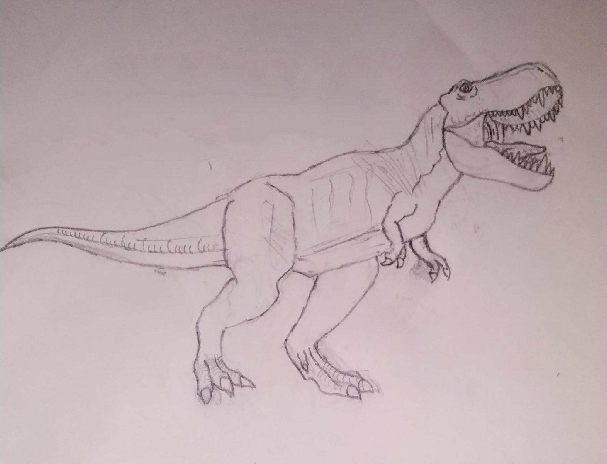 The tyrant lizard