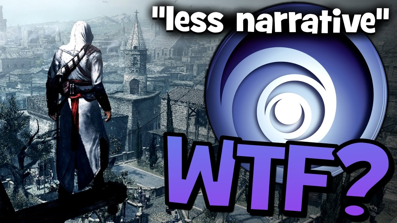 Ubisoft, WHAT THE FUCK ARE YOU DOING? - Assassin's Creed to Focus LESS on Narrative?