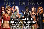 Sasha Banks vs. Elise Angel vs. Angelina Love (c) vs. Awesome Kong vs. Brooke Tessmacher vs. Becky Lynch