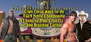 AJ Styles vs. Mike Cross (c) vs. John Bradshaw Layfield