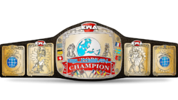 EWA Global Championship belt