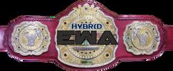 EWA Hybrid Championship belt