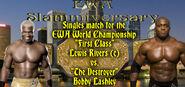 Lewis Rivers (c) vs. Bobby Lashley