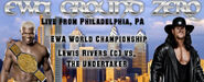 Lewis Rivers (c) vs. Undertaker