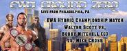 Walter Scott vs. Bobby Mitchell (c) vs. Mike Cross