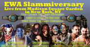 Four Corners Tag Team Elimination match to crown the first ever EWA World Tag Team Champions