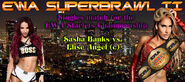 Singles match for the EWA Starlets Championship
