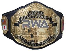 An image of the World Heavyweight Championship (RWA).
