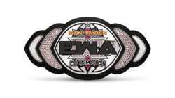 EWA Iron Maiden Championship belt