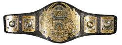 The CWA Heavyweight Championship Belt