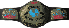An image of the WCL Tag Team Championship.