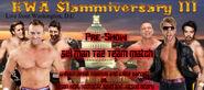 William Regal, Magnus and Wade Barrett vs. Tyson Kidd, Rockstar Spud and Katsuo Bitoru