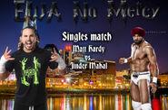 Matt Hardy vs. Jinder Mahal