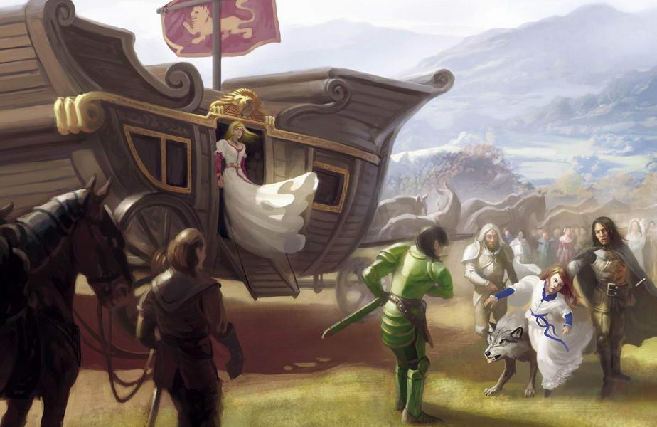A Game of Thrones - Kapitel 4 - Eddard I