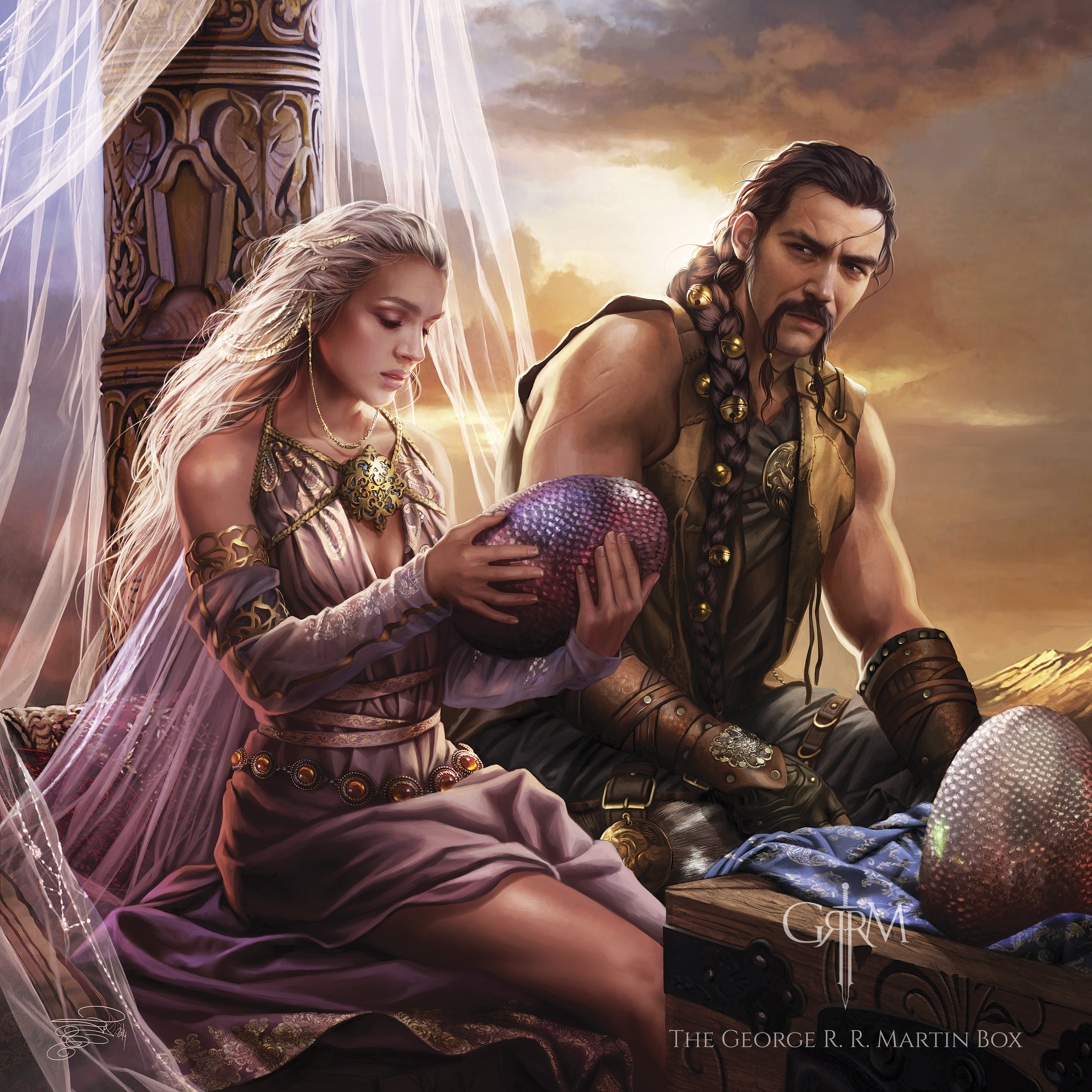A Game of Thrones - Kapitel 11 - Daenerys II