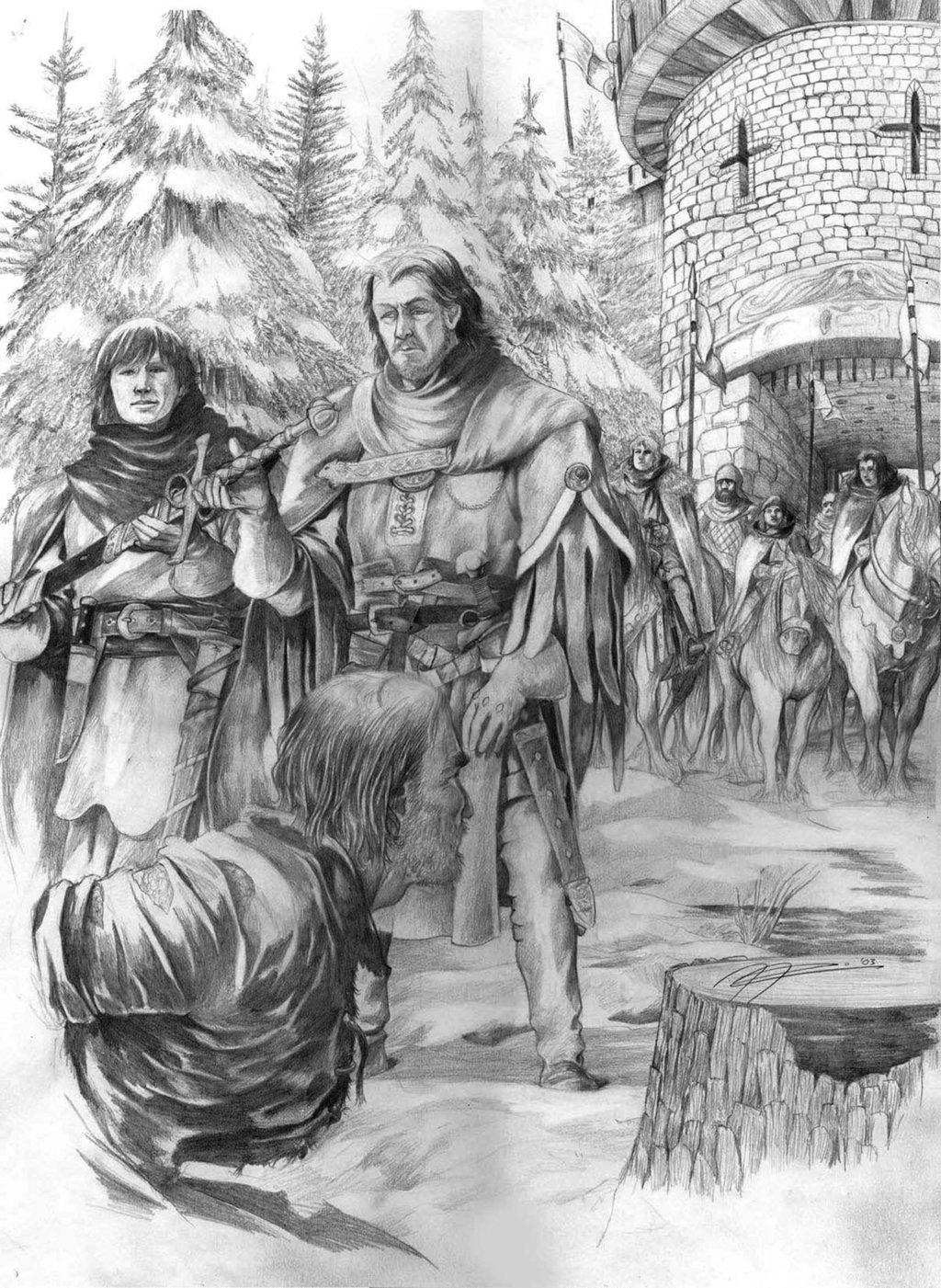 A Game of Thrones - Kapitel 1 - Bran I
