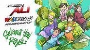 Ejen Ali WAUriors Drawing Mashup Episode 4 ARTvidence StayAtHome DudukRumah