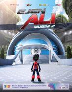 Ejen Ali Season 2 Poster