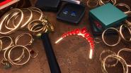 Abang Bear Choosing Jewelry