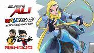 Ejen Ali WAUriors Drawing Mashup Episode 5 ARTvidence StayAtHome DudukRumah