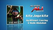 Kita Jaga Kita - Altimet x Cuurley x Malik Abdullah Lyrics Video (Ejen Ali The Movie OST)