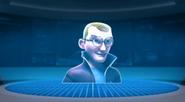 Aaron in hologram